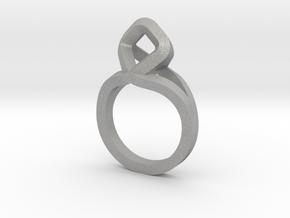 Sharp Rhythm Ring, us size 5 ,d=15,5 mm in Aluminum: 5 / 49