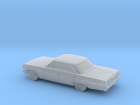 1/87 1963 Chevrolet Impala Sedan in Smooth Fine Detail Plastic