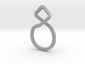 A-LINE Dancing D.011 Ring US size 3.5, d=14,5mm in Aluminum: 3.5 / 45.25