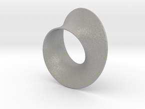 Minimal Mobius steel and aluminum (2¾ in) in Aluminum