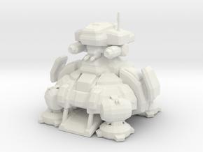 1/700 Terran Planetary Fortress in White Natural Versatile Plastic