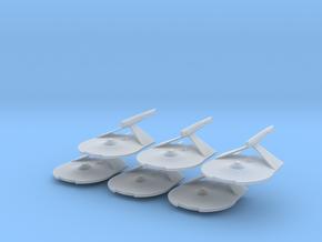 1/7000 Destroyer Larson v2 - 06 ships pack in Smooth Fine Detail Plastic