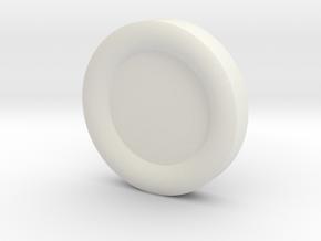 GUNGI game: Commander 1x in White Natural Versatile Plastic