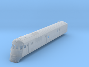 N Scale Southern Ry. Railcar in Smooth Fine Detail Plastic