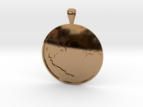 Terra (The Earth) in Polished Brass