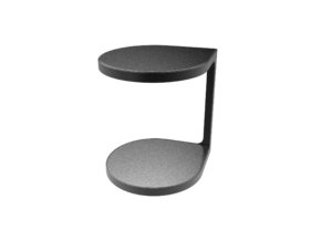 Coot Table - Gordon Guillaumier in White Strong & Flexible: 1:12