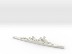 Sverdlov-class cruiser, 1/2400 in White Natural Versatile Plastic