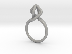 Dancing D.022, Ring US size 5.5, d=16mm in Aluminum: 5.5 / 50.25