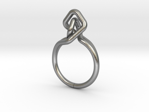 A-LINE Dancing D.02,US size 5.5, d=16mm in Natural Silver: 5.5 / 50.25