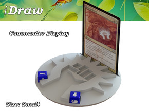 Commander Display Boros in White Natural Versatile Plastic: Small
