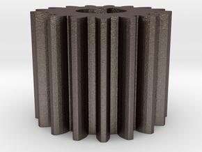 Cylindrical gear Mn=1 Z=17 AP20° Beta0° b=15 HoleØ in Stainless Steel