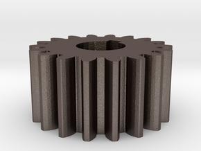 Cylindrical gear Mn=1 Z=18 AP20° Beta0° b=10 HoleØ in Stainless Steel
