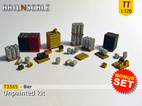 BONUS SET Bier (TT 1:120) in Smooth Fine Detail Plastic
