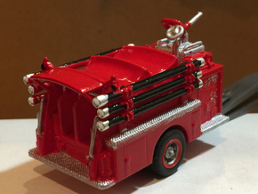 Mack Pumper Body 1:87 in White Strong & Flexible