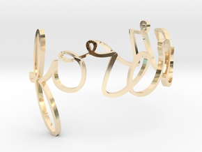 Forever Ring in 14k Gold Plated Brass: 10 / 61.5