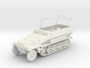 WIP Sd.kfz 251/6 ausf B 1:48 28mm wargames in White Strong & Flexible