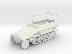 VBA005 Sd.kfz 251/6 ausf B in White Natural Versatile Plastic