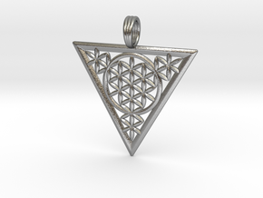FLOWER OF RA in Natural Silver
