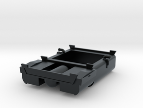 EMD F Unit Fuel Tank in Black Hi-Def Acrylate