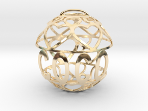 Coco Lovaball in 14k Gold Plated Brass