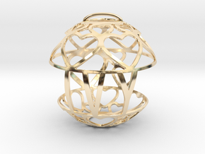 Ivy Lovaball in 14k Gold Plated Brass