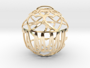 Tammie Lovaball in 14k Gold Plated Brass