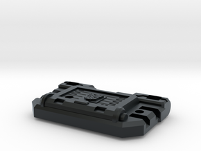 Cortex Chest For Combiner Police Cars in Black Hi-Def Acrylate