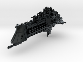 "Imperial Navy ""Overlord"" Cruiser in Black Hi-Def Acrylate"