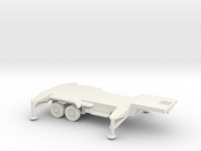 1/110 Scale Patriot Missile Trailer in White Strong & Flexible