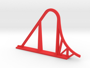 Indimidator 305 Roller Coaster in Red Processed Versatile Plastic