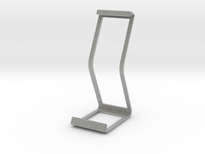Ipad Stand V2 material saver in Metallic Plastic