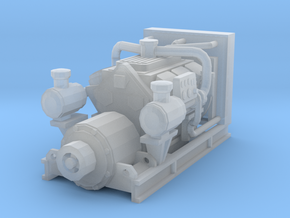 1/87th Diesel Electric Generator in Frosted Ultra Detail