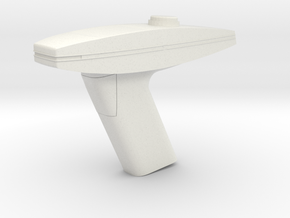 Type 2 Phaser (Star Trek The Motion Picture), 1/6 in White Natural Versatile Plastic