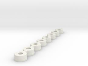 bearing_dummys_2.0 in White Natural Versatile Plastic