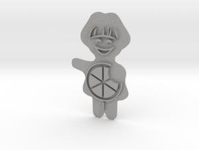 Keksstempel Winnie Figur2 (1 Teil) in Aluminum: Large