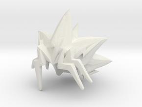 Custom Yugioh Inspired Lego in White Natural Versatile Plastic