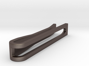 Minimalist Tie Bar - Wedge (1.5 In) in Stainless Steel
