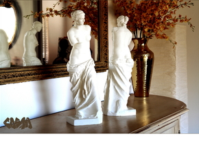"Venus de Milo (4.8"" tall) in White Strong & Flexible"
