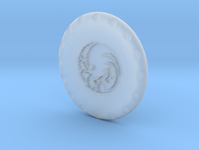 Golf Ball Marker House Targaryen in Smoothest Fine Detail Plastic