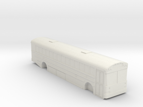 IC RE 300 School Bus S Scale 1/64 in White Natural Versatile Plastic