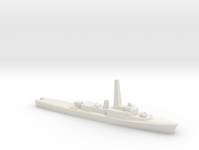 Restigouche-class DDE (DELEX), 1/1800 in White Strong & Flexible