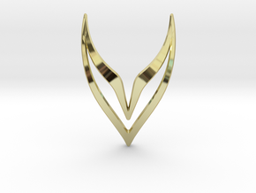 sWINGS Fly, Pendant in 18k Gold Plated Brass