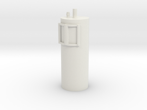 1:16 fire extinguisher model 1 in White Natural Versatile Plastic