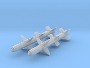 1/96 RIM-8 Talos missiles in Smooth Fine Detail Plastic: 1:96