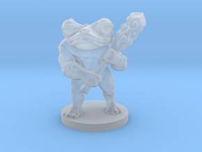 Toad Warrior for Dungeons and Dragons in Smooth Fine Detail Plastic
