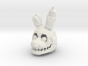 Custom Hare in White Natural Versatile Plastic