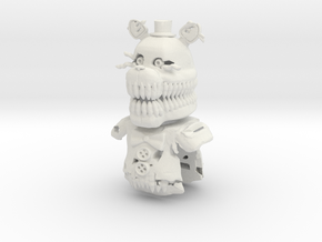 Legendary Scary Grizzly in White Natural Versatile Plastic