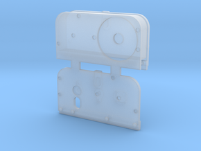 Side Plates RH in Smooth Fine Detail Plastic