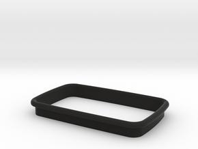 84 S3 Bezel V2 in Black Natural Versatile Plastic