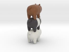 Bear Stack in Full Color Sandstone